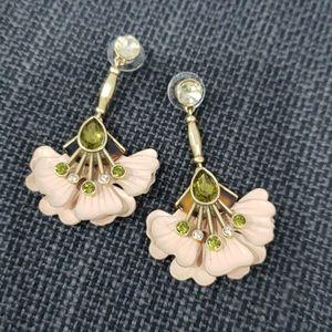 Stella & Dot Rory Floral Drop Earrings